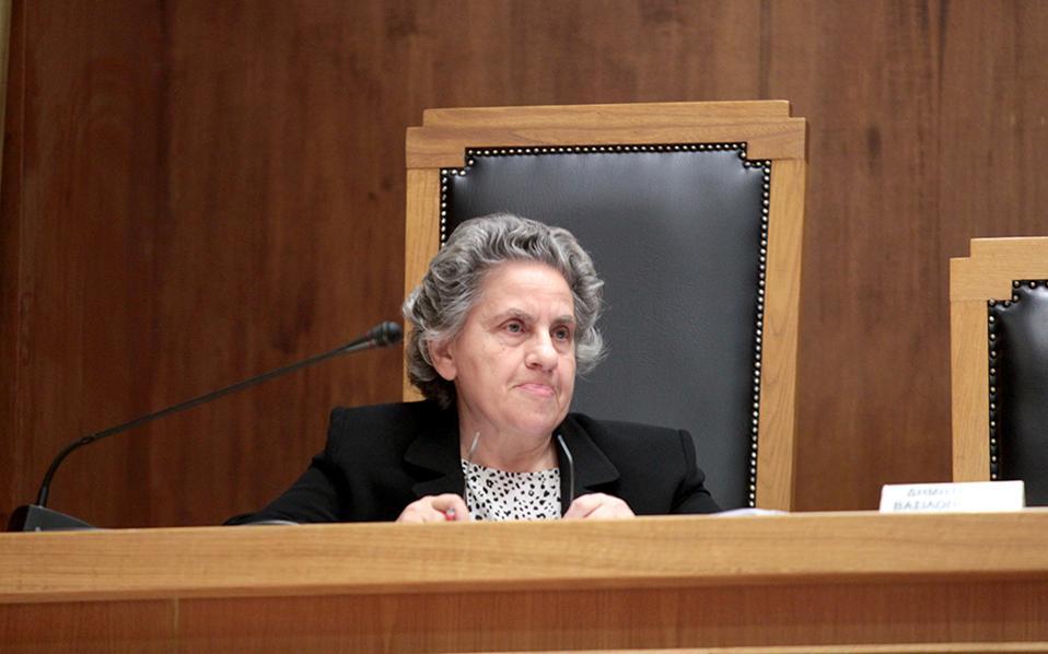Ξένη Δημητρίου: Δεν ήξερα (σ.σ επί 5 μήνες) τις καταγγελίες Αγγελή στον Πεπόνη για «άρον- άρον διώξεις πολιτικών προσώπων» στη Novartis
