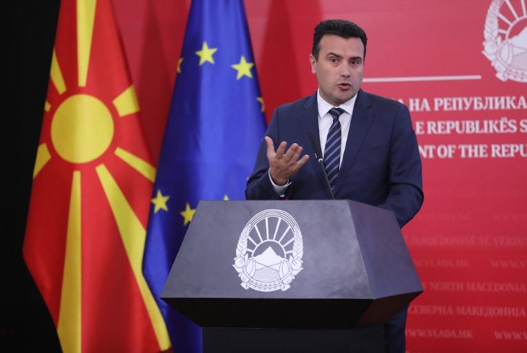 Πρόωρες εκλογές στη Βόρεια Μακεδονία ανακοίνωσε ο Ζάεφ