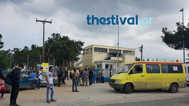 Θεσσαλονίκη: Τέσσερις τραυματίες μετά από συμπλοκή στη δομή προσφύγων στα Διαβατά