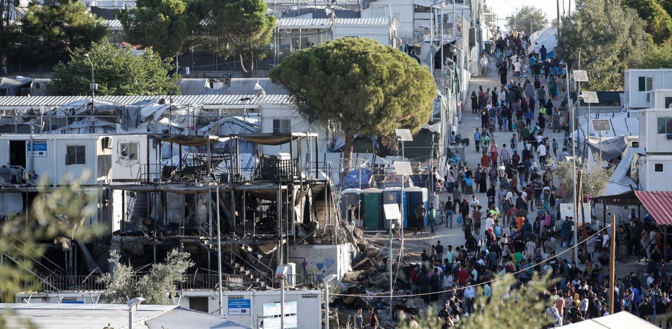Πάνω από 18.200 οι πρόσφυγες και μετανάστες στη Μόρια