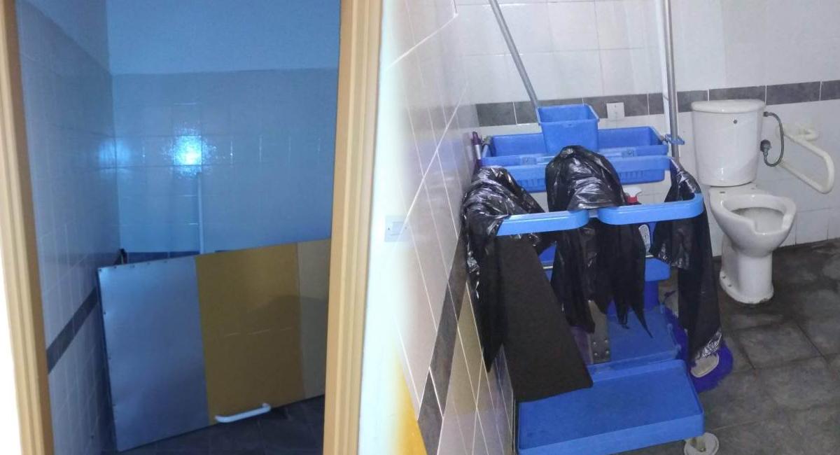 Πρωτοδικείο Αθηνών: Καταγγελία για τις τουαλέτες των ΑμεΑ που έχουν… ρημάξει (φωτογραφίες)