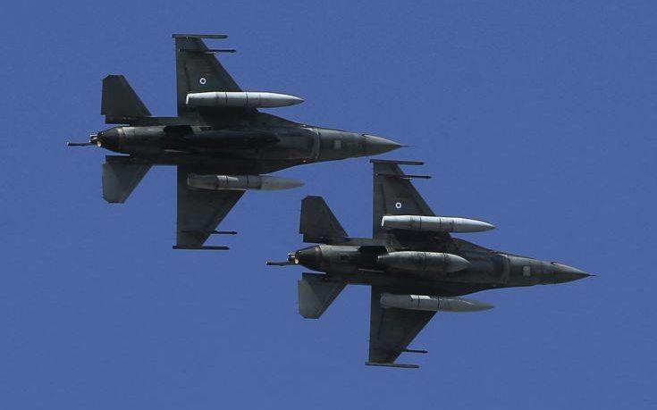 Τουρκικές παραβιάσεις: 16 εικονικές αερομαχές στο Αιγαίο