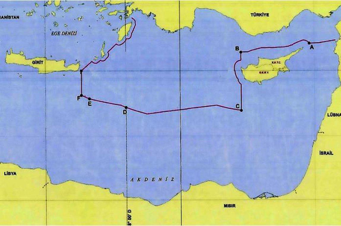 Αυτός είναι ο προκλητικός χάρτης της συμφωνίας Τουρκίας – Λιβύης
