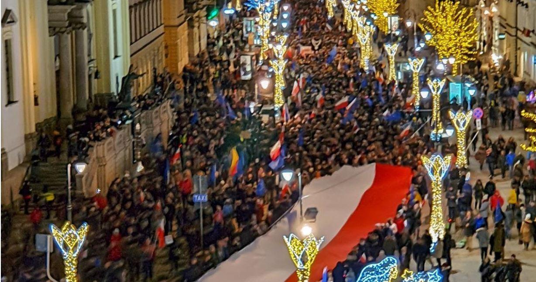 Συμμετοχή της Ε.Δ.Ε. στη μεγάλη πορεία της Βαρσοβίας