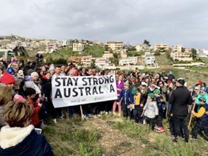 Το μήνυμα των νέων από το Μάτι: Μείνε δυνατή Αυστραλία