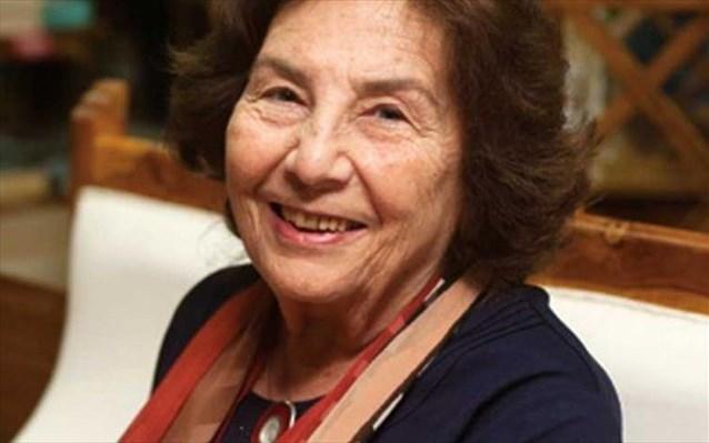 «Έφυγε» η συγγραφέας Αλκη Ζέη
