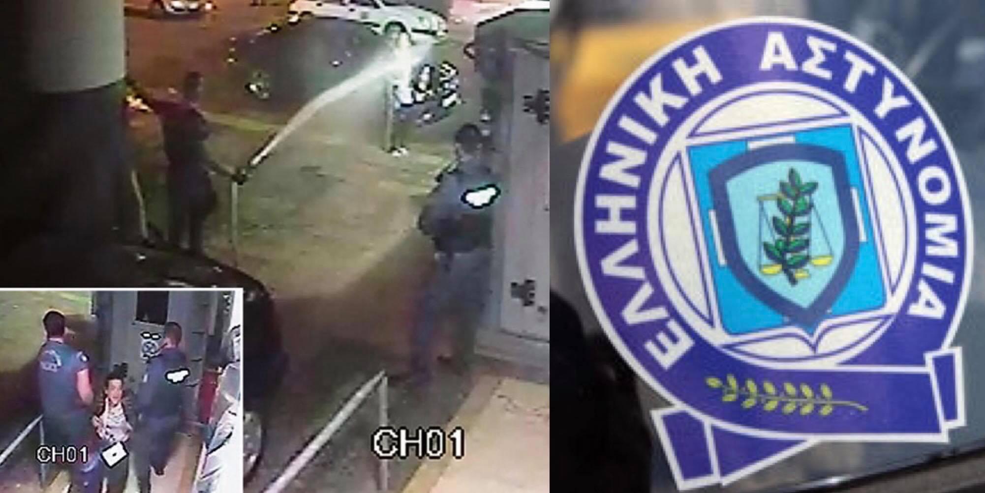 Αποκάλυψη: Σε διαθεσιμότητα τέθηκε ο αστυνομικός που κατέβρεξε γυναίκα έξω από το ΑΤ Ομονοίας (Βίντεο)
