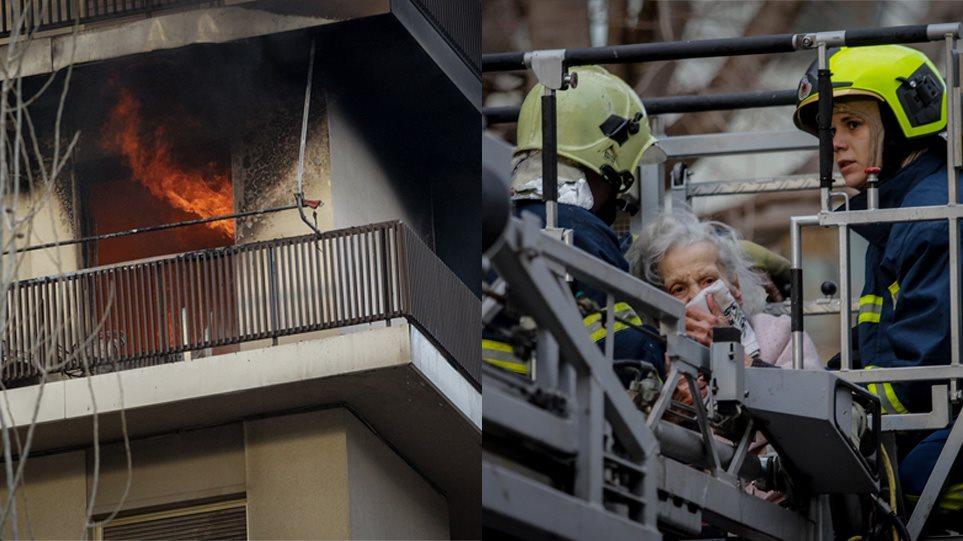 Φωτιά σε διαμέρισμα στο Παλαιό Φάληρο: Δραματικές στιγμές – Απεγκλωβίστηκαν δύο γυναίκες