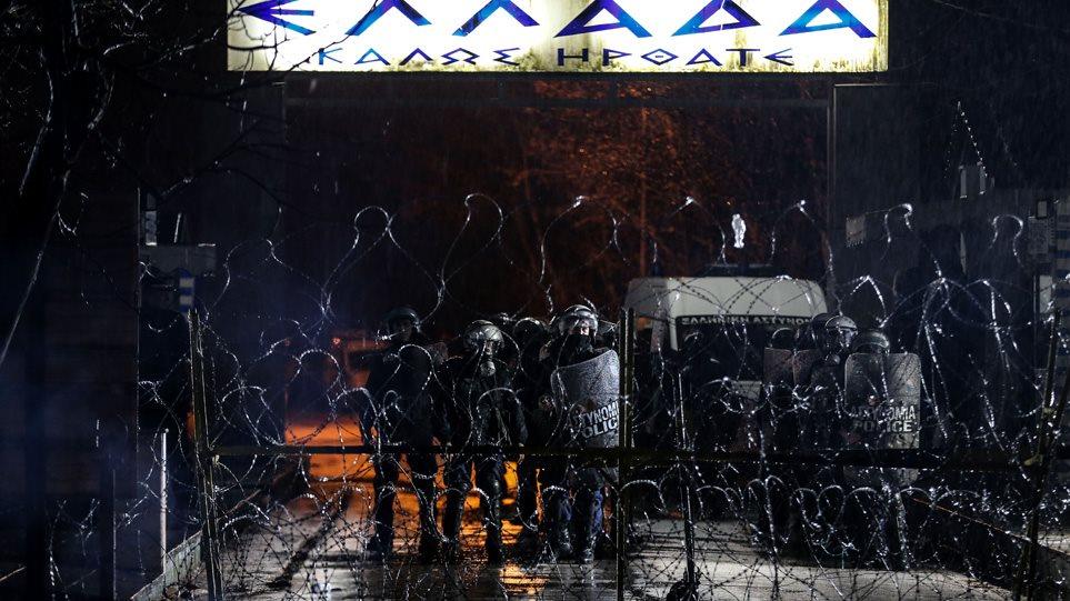 Έβρος: Ολονύχτια μάχη για να μην περάσουν οι μετανάστες τα σύνορα
