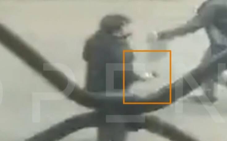 Νέο βίντεο ντοκουμέντο από τη Μενάνδρου: Οι δράστες με τα πιστόλια στα χέρια
