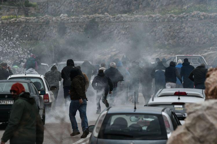 Κατάθεση μηνυτήριας αναφοράς του Βουλευτή του ΣΥΡΙΖΑ Χίου, Α. Μιχαηλίδη , για τα επεισόδια με τα ΜΑΤ
