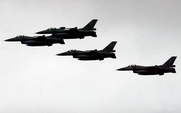 Νέες τουρκικές υπερπτήσεις στο Αιγαίο: Ζεύγος τουρκικών F-16 πέταξε πάνω από Παναγιά και Οινούσσες
