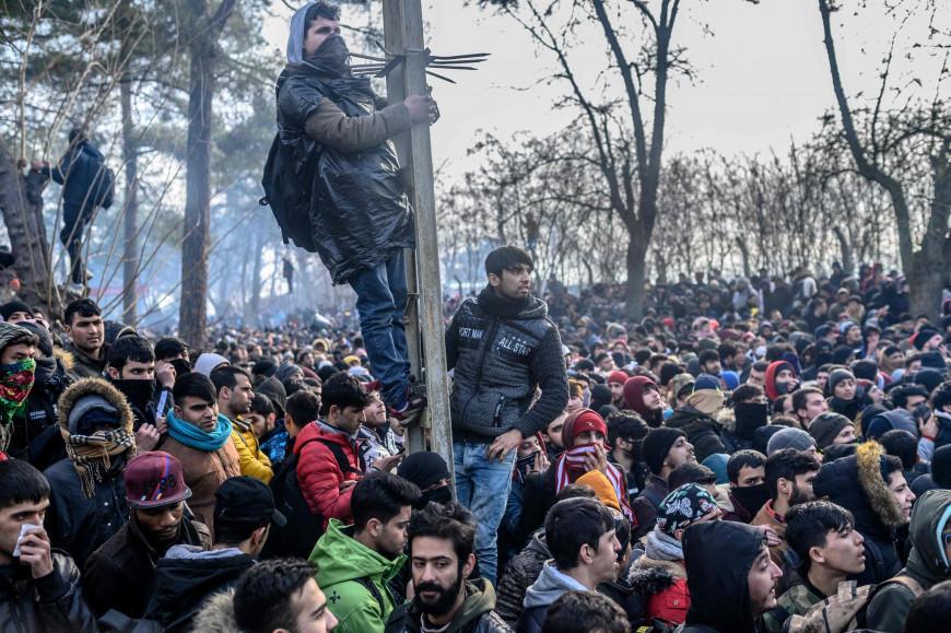 Το Τουρκικό ΥΠΕΞ κατηγορεί την Ε.Ε. πως χρησιμοποιεί τους μετανάστες ως πολιτικό εργαλείο