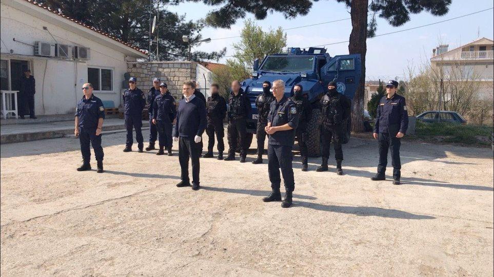 Χρυσοχοΐδης από τον Έβρο: Φράχτης στα σύνορα σε όσα σημεία είναι αναγκαίο
