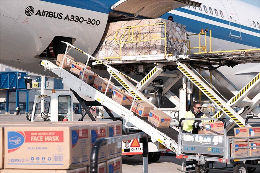 StateGrid του ΑΔΜΗΕ: 18 τόνους ιατρική βοήθεια από Κίνα για τα ελληνικά νοσοκομεία