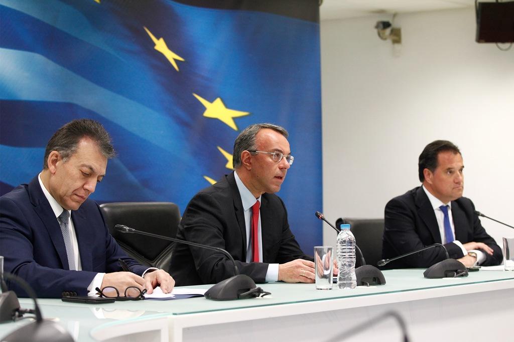 Πακέτο στήριξης 6,8 δισ. ευρώ το δίμηνο Μαρτίου, Απριλίου – Νέα μέτρα στήριξης εργαζομένων και επιχειρήσεων    Αχτσιόγλου, Παππάς, Τσακαλώτος: Το μαρτύριο της σταγόνας ή αλλιώς το μαρτύριο των ανεπαρκών μέτρων