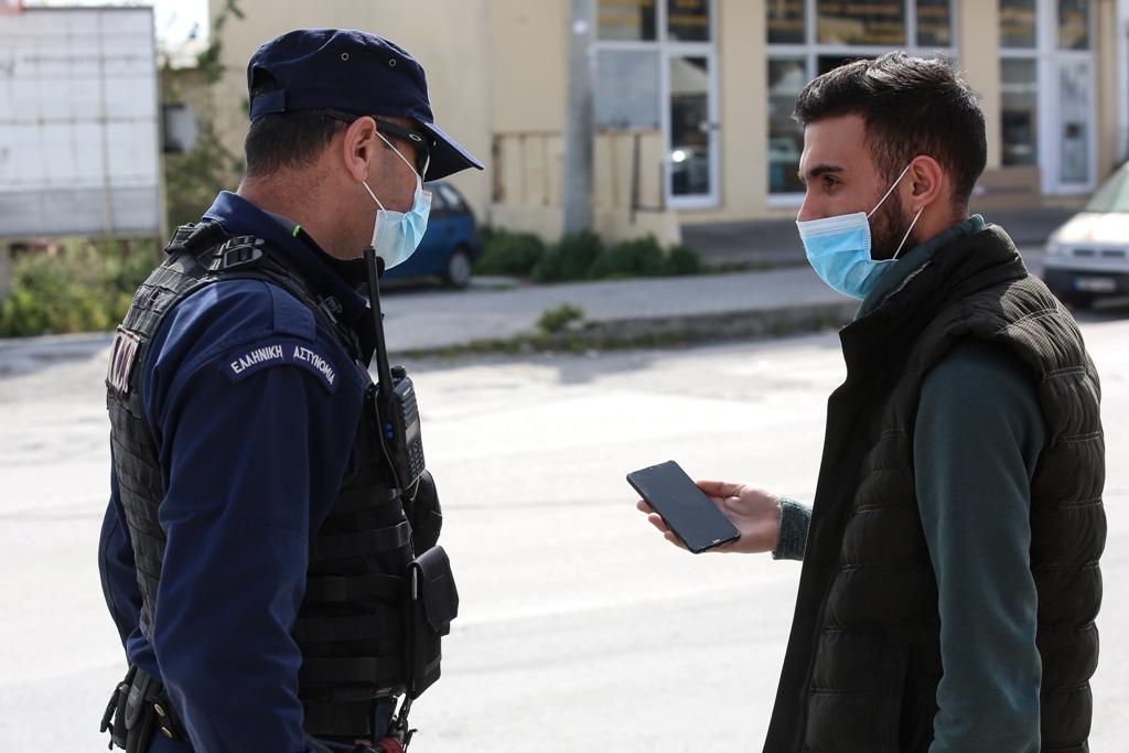 Χίος: Τα δύο πρώτα πρόστιμα ύψους 150 ευρώ για άσκοπη κυκλοφορία