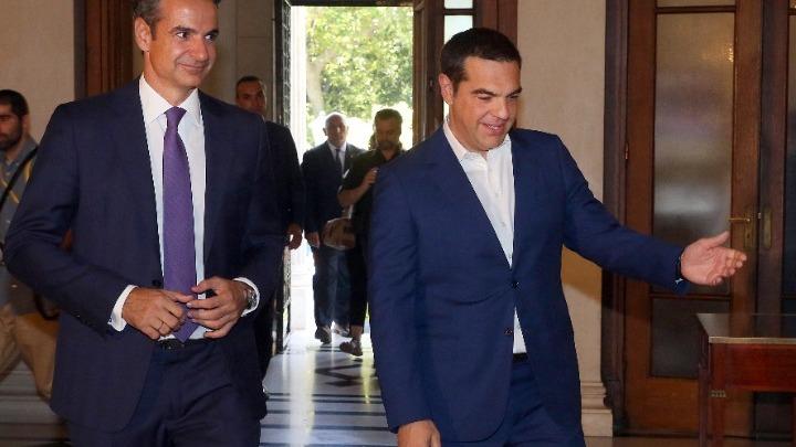 Τηλεφωνική επικοινωνία Τσίπρα-Μητσοτάκη. Την ανάγκη της άμεσης ενίσχυσης του ΕΣΥ τόνισε ο πρόεδρος του ΣΥΡΙΖΑ