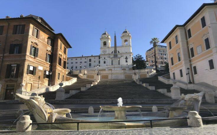 Ιταλία: 349 νεκροί από τον κορονοϊό μόνο σήμερα