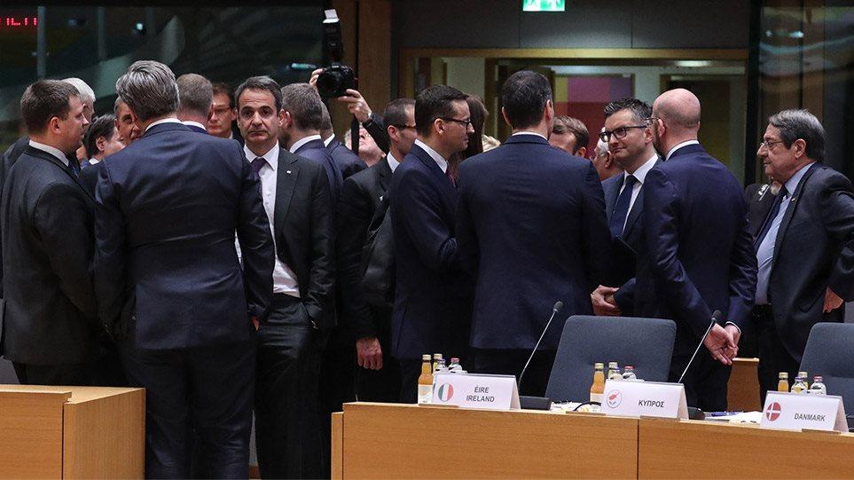 Κορωνοϊός: Μέτρα για την ενίσχυση της οικονομίας και ειδικό ταμείο 25 δισ. αποφάσισαν οι ηγέτες της ΕΕ