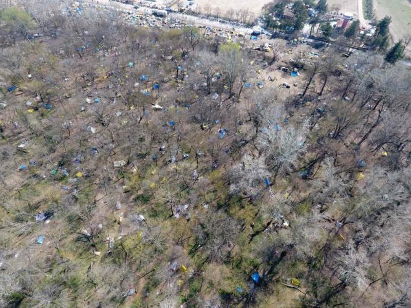 Μεγάλη οικολογική καταστροφή στον Έβρο από την πλευρά της Τουρκίας