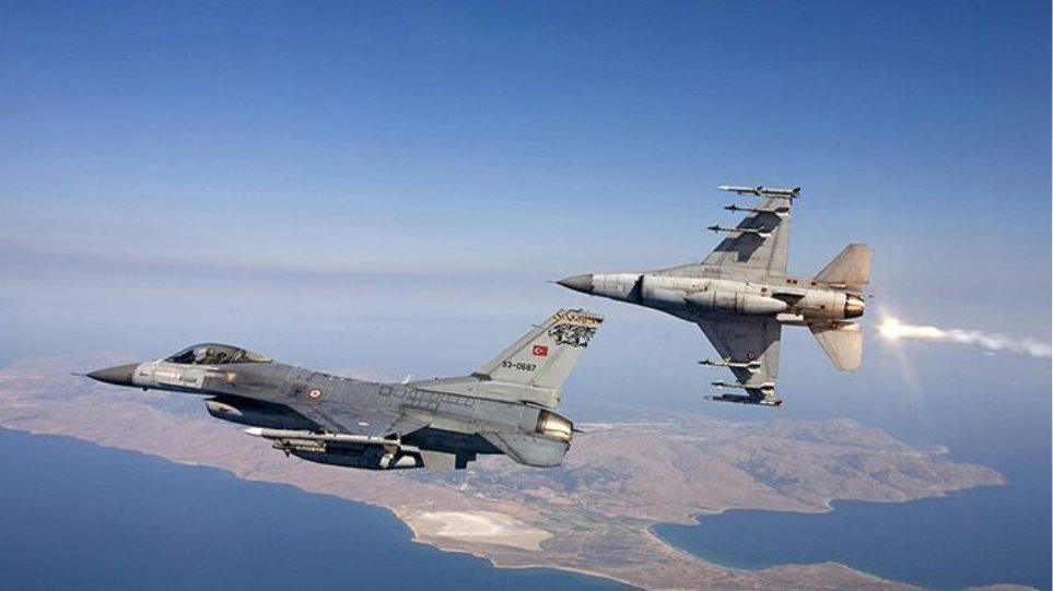 Μπαράζ προκλήσεων και στον αέρα: Εμπλοκές, υπερπτήσεις και 23 παραβιάσεις από τουρκικά μαχητικά