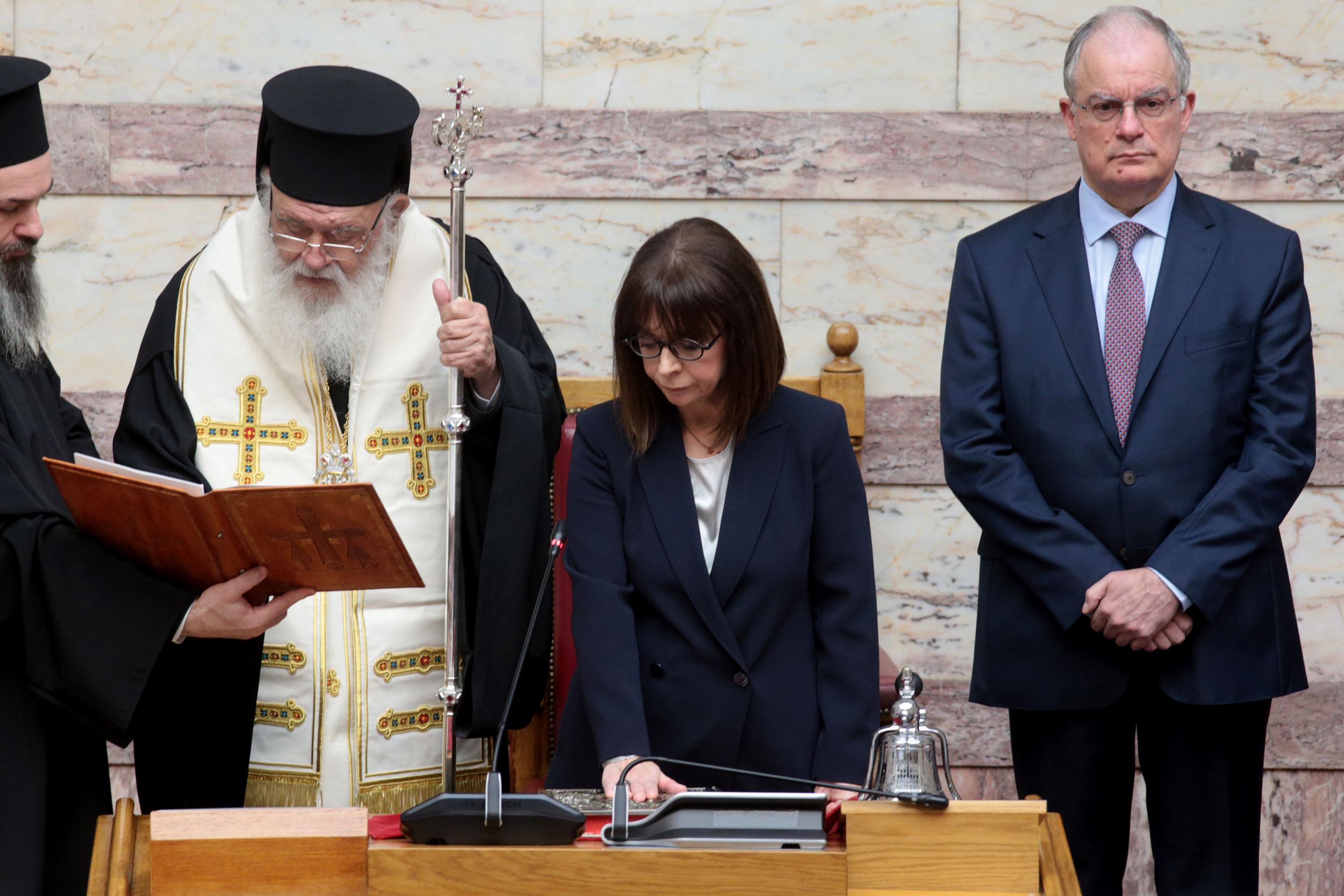 Κατερίνα Σακελλαροπούλου: Ορκίστηκε η πρώτη γυναίκα Πρόεδρος της Δημοκρατίας (Φωτογραφίες)