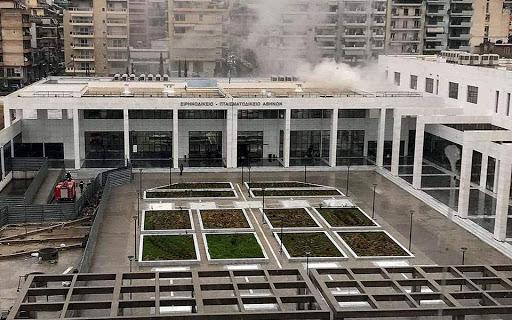 Η πυρκαγιά έστειλε στο… πταισματοδικείο το Ειρηνοδικείο