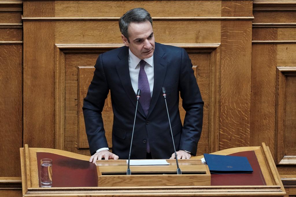 Παρέμβαση Κυριάκου Μητσοτάκη και Αλέξη Τσίπρα στην Βουλή