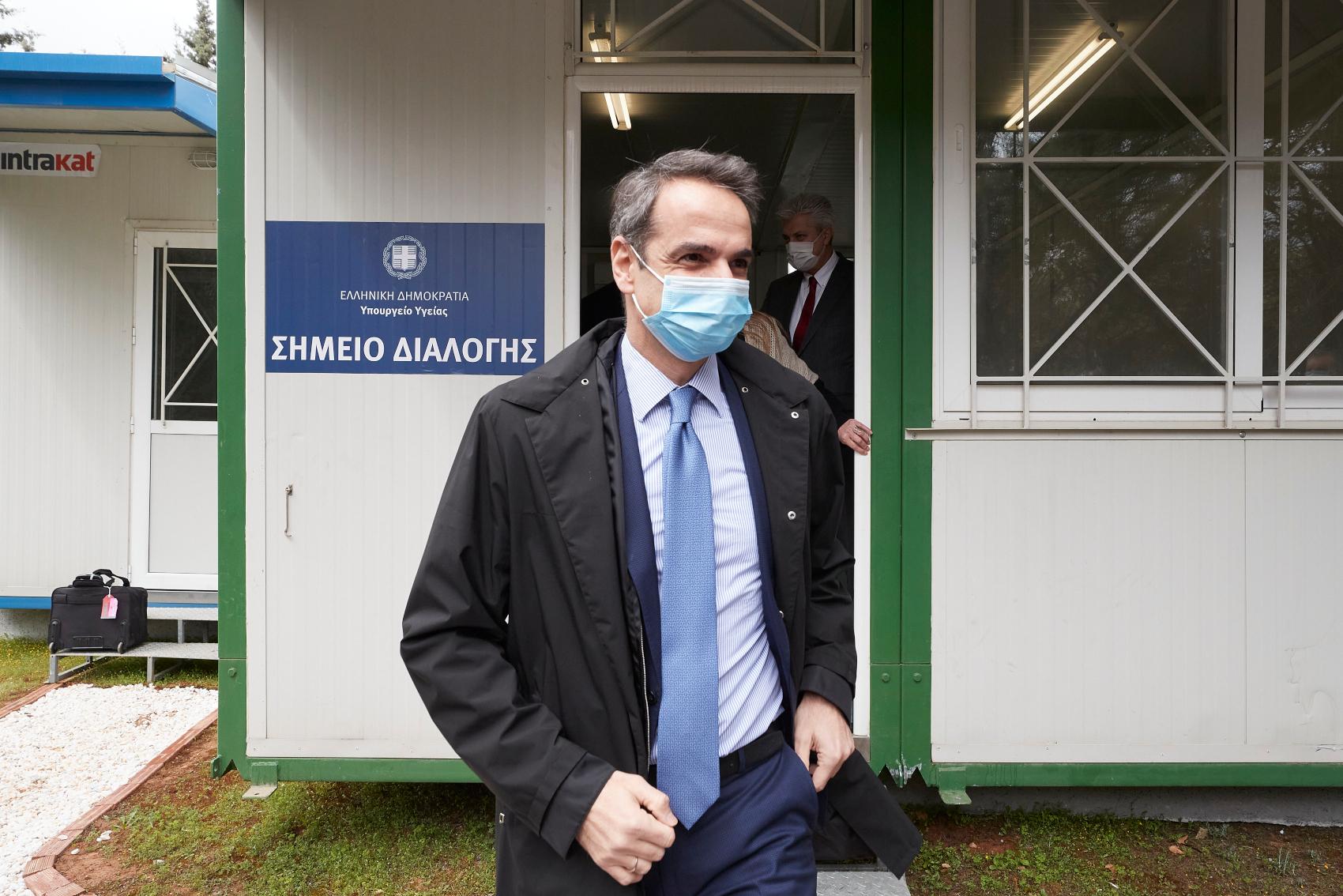 Παρουσία του Πρωθυπουργού στην παράδοση υγειονομικού υλικού στο Νοσοκομείο «Η Σωτηρία» (Φωτογραφίες – Βίντεο)