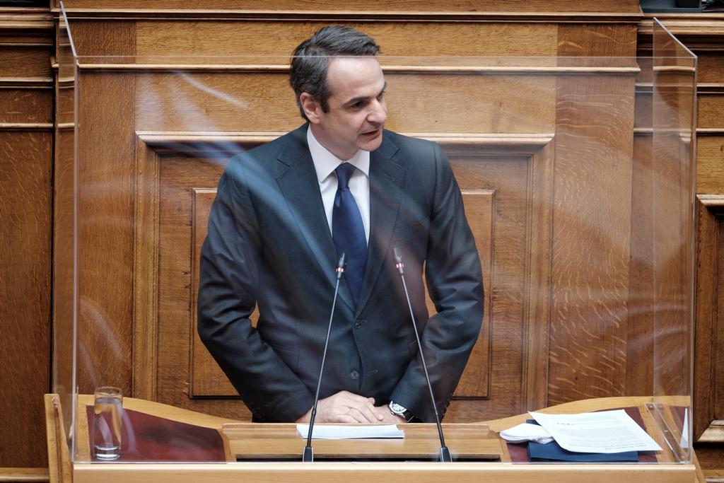 LIVE: Κυριάκος Μητσοτάκης από Βουλή: Νέα μέτρα στήριξης ύψους 3,5 δισ ευρώ