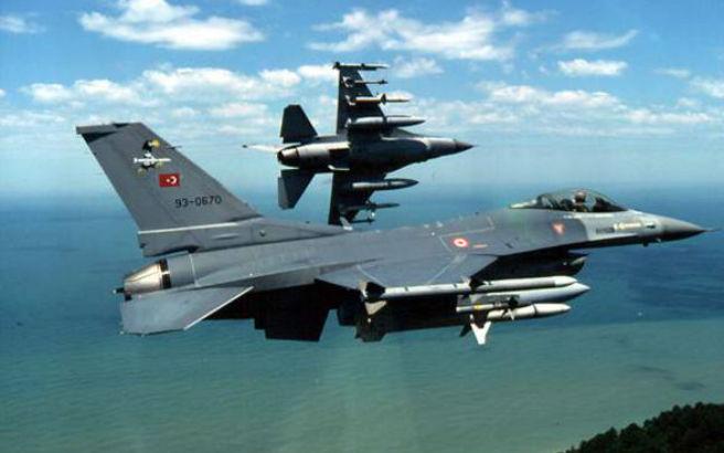 Υπερπτήσεις τουρκικών F-16 πάνω από Λέσβο και Χίο