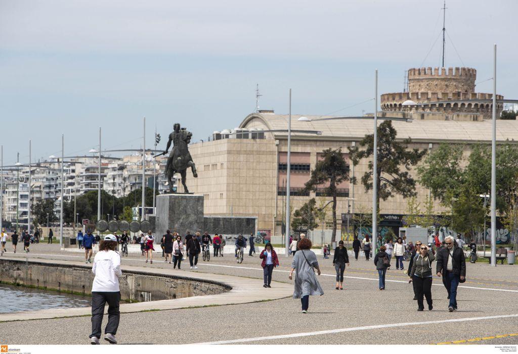 Θεσσαλονίκη: Ανοίγει από σήμερα τη Νέα Παραλία