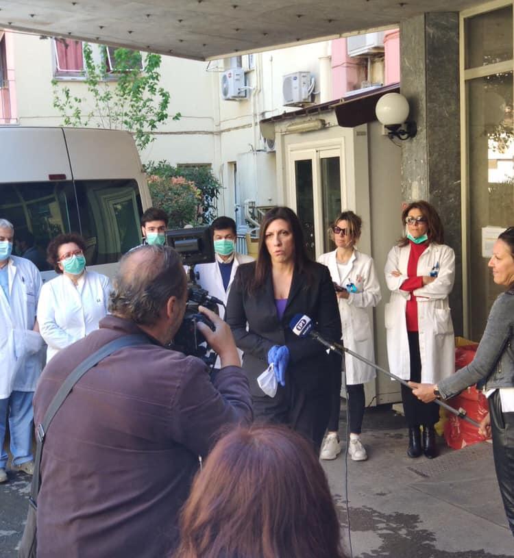 Παραδόθηκε το πρώτο μέρος της δωρεάς 3 κλινών ΜΕΘ και 2 κλιβάνων από την Πλεύση Ελευθερίας προς το Νοσοκομείο «Παμμακάριστος» (Φωτογραφίες)
