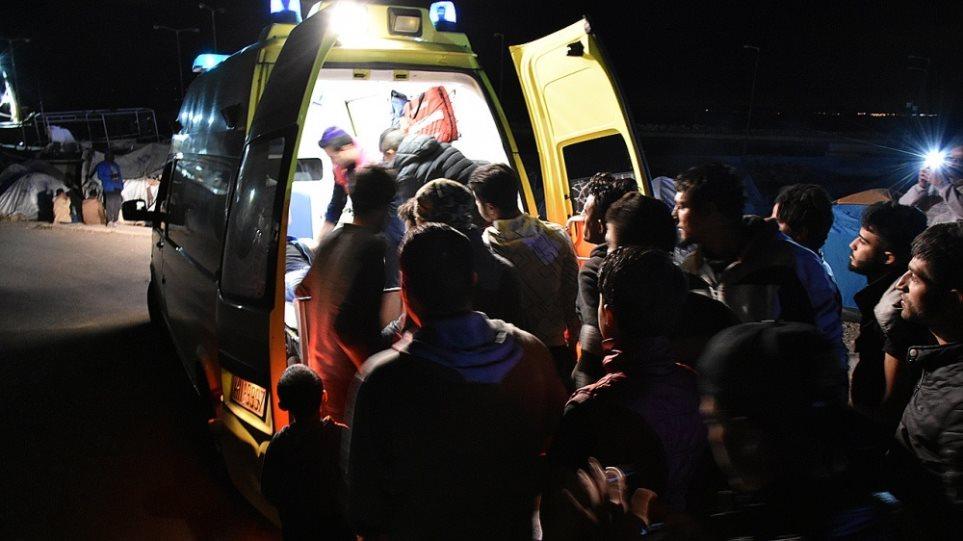 Μεταναστευτικό: Πυροβολισμοί στη Μόρια με δύο τραυματίες
