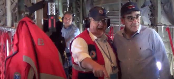 Διπλή αεροδιακομιδή το Πάσχα με συμμετοχή του υφ. Υγείας Β. Κοντοζαμάνη (Βίντεο – Φωτογραφίες)