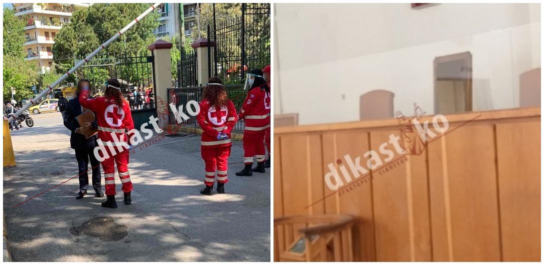 Δίκες χωρίς διαδίκους αλλά και… δικηγόρους στην Αθήνα, θερμομέτρηση, securityκαι «μπλοκαρισμένα» 12 Ειρηνοδικεία