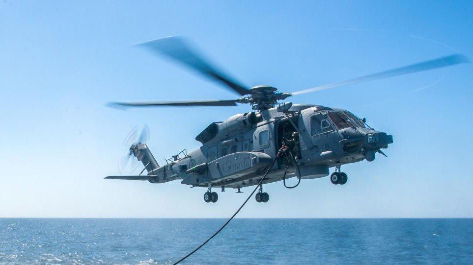 Ελικόπτερο του ΝΑΤΟ κατέπεσε ανοιχτά της Κεφαλλονιάς