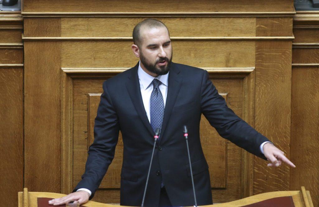Τζανακόπουλος: Το σκάνδαλο της τηλεκατάρτισης ακουμπά το ίδιο το Μαξίμου
