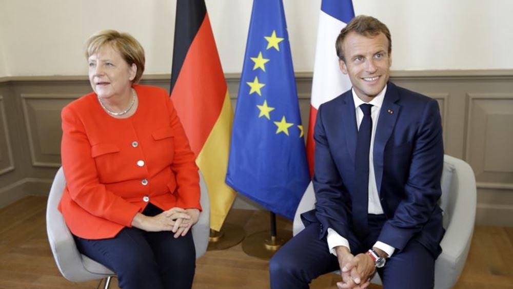 To απόγευμα η τηλεδιάσκεψη Μακρόν-Μέρκελ: Θα ανακοινωθούν γαλλογερμανικές πρωτοβουλίες και μέτρα για το Ταμείο Ανάκαμψης