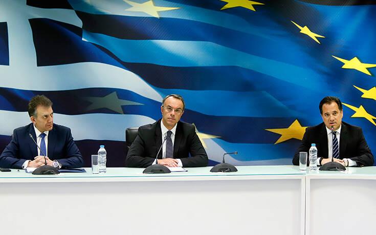 LIVE οι ανακοινώσεις των υπουργών για τα μέτρα στήριξης της εργασίας, της οικονομίας και του τουρισμού