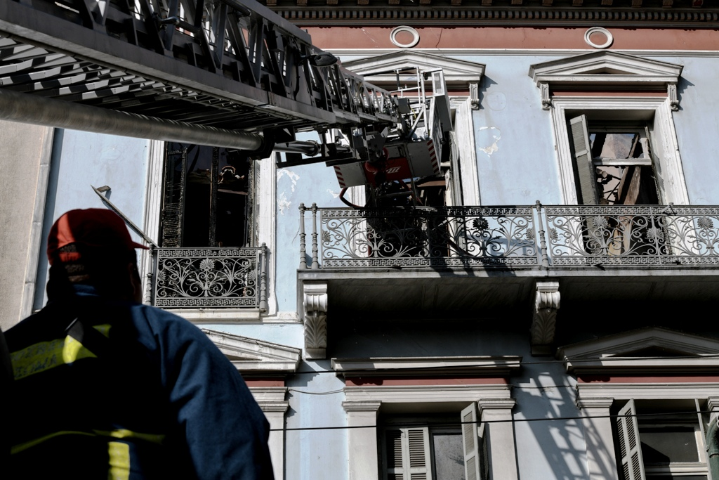 Ποιο ήταν το νεοκλασικό κτήριο στην Σταδίου που ξέσπασε πυρκαγιά το πρωί