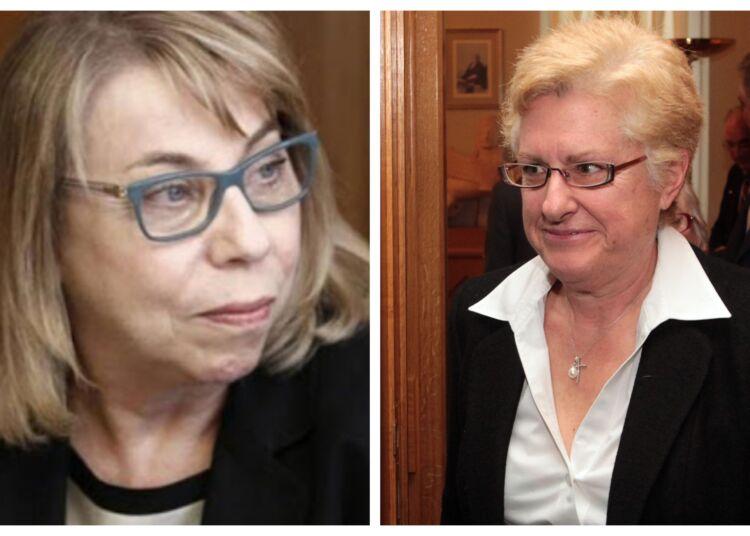 Μαίρη Σάρπ και Αγγελική Αλειφεροπούλου παίρνουν σήμερα το χρίσμα για τη Προεδρία του ΣτΕ και του Αρείου Πάγου
