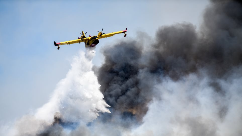 Συνελήφθη ένα άτομο για την φωτιά στο Γραμματικό. Κατηγορείται για εμπρησμό από αμέλεια – Βελτιώνεται η εικόνα των πυρκαγιών σε Γραμματικό και Κεχριές