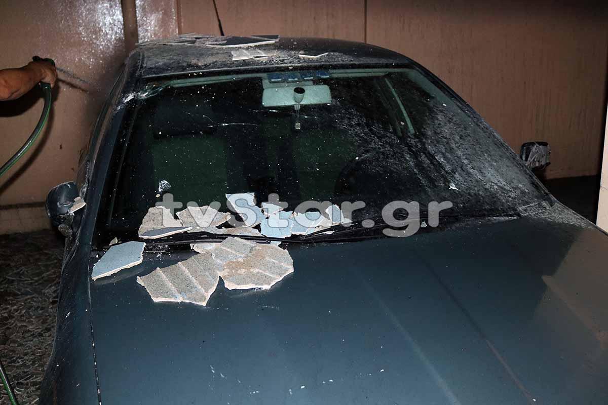 Λαμία: Έβαλαν φωτιά στο αυτοκίνητο του πρώην αρχιφύλακα των φυλακών Δομοκού (φωτογραφίες και βίντεο)