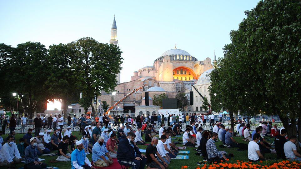Καταδίκη για τη μετατροπή της Αγιάς Σοφιάς σε τζαμί από τον Κύκλο Ελλήνων Λογοτεχνών Δικαστών – Ζητάει αντίδραση της διεθνούς κοινότητας