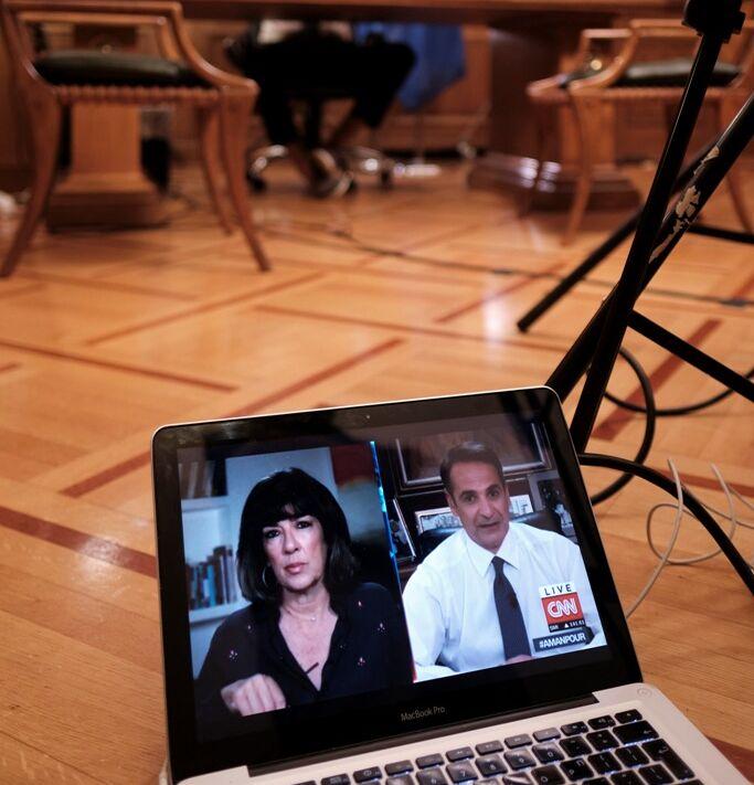 Μητσοτάκης στο CNN: Η Τουρκία να σταματήσει τις προβοκάτσιες και να έρθει για διάλογο -Υπάρχει και η Χάγη