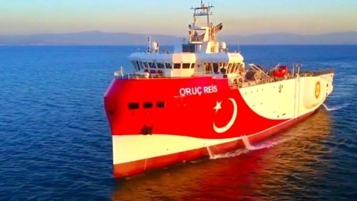Νέα εξέλιξη: Βγήκε από την ελληνική υφαλοκρηπίδα το Oruc Reis