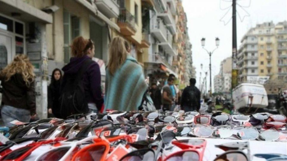 Πρόστιμα συνολικού ύψους 14.900 ευρώ επιβλήθηκαν σε μια βδομάδα για παρεμπόριο