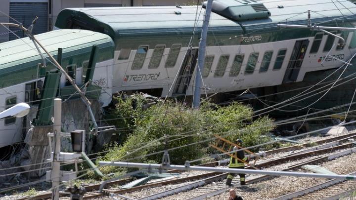 Ιταλία: Τρένο έφυγε από τον σταθμό χωρίς οδηγό κι εκτροχιάστηκε – Τρεις τραυματίες